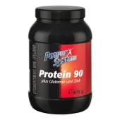 Купить Протеин Protein 90 plus L-glutamine and zinc Power System 675 гр. в Санкт-Петербурге