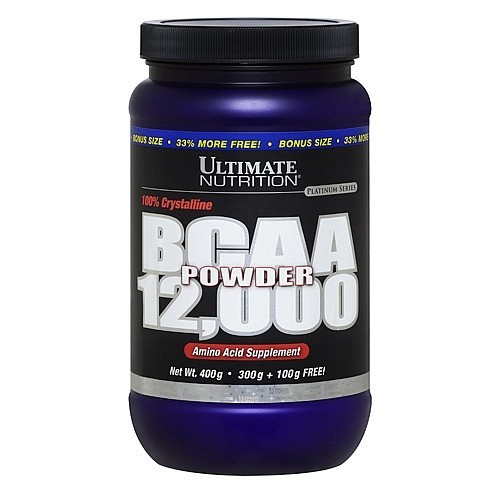Купить BCAA 12,000 Powder Ultimate Nutrition 400 гр. в Санкт-Петербурге