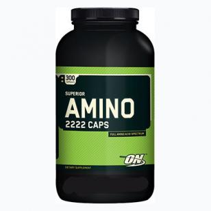 Купить Аминокислоты Amino 2222 Caps Optimum Nutrition 300 капсул в Санкт-Петербурге