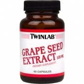 Купить Антиоксидант Grape Seed Extract 100 mg Twinlab 60 капсул в Санкт-Петербурге