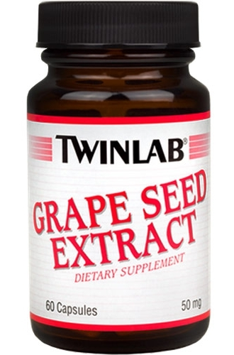 Купить Экстракт Grape Seed Extract 50 mg Twinlab 60 капсул в Санкт-Петербурге