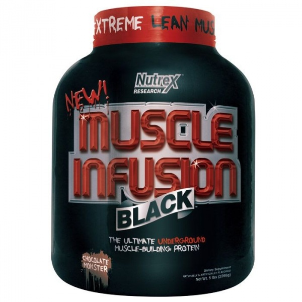 Купить Протеин Muscle Infusion Black Nutrex 2268 гр. в Санкт-Петербурге