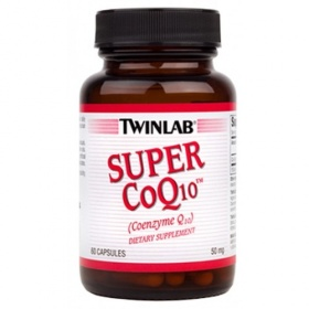 Купить Коэнзим CoQ10 Super 50 mg Twinlab 60 капсул в Санкт-Петербурге
