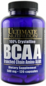 Купить BCAA 500 Ultimate Nutrition 120 капсул в Санкт-Петербурге